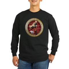 Adventures of Tintin Long Sleeve Dark T-Shirt