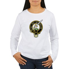 Clan Gunn black Women's Long Sleeve T-Shirt