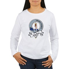 MacKay Clan Badge Women's Long Sleeve T-Shirt