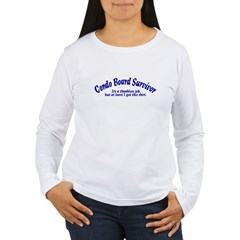 Condo Survivor - Thankless Women's Long Sleeve T-Shirt