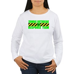 Zombie Outbreak Response Team Women's Long Sleeve T-Shirt