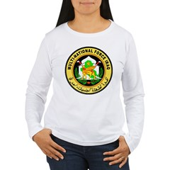 Iraq Force Women's Long Sleeve T-Shirt