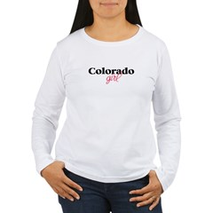 Colorado girl (2) Women's Long Sleeve T-Shirt