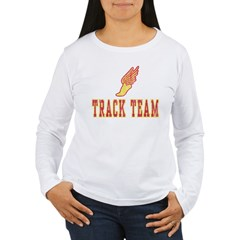 Track Team Women's Long Sleeve T-Shirt