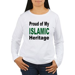 Proud Islamic Heritage Women's Long Sleeve T-Shirt