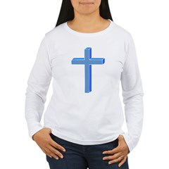 Cross Women's Long Sleeve T-Shirt