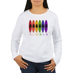 Kayak Rainbow Women's Long Sleeve T-Shirt