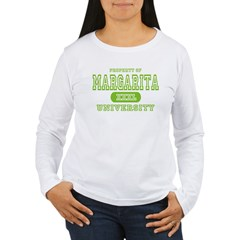 Margarita University Women's Long Sleeve T-Shirt