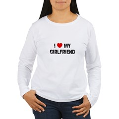 I * My Girlfriend Women's Long Sleeve T-Shirt