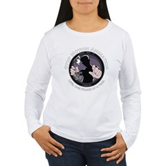 Stop Motion Animation Women's Black Women's Long Sleeve T-Shirt
