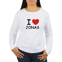 I love Jonas Women's Long Sleeve T-Shirt