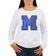 M Go Blue Women's Long Sleeve T-Shirt