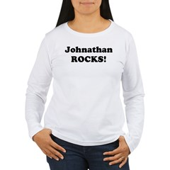 Johnathan Rocks! Women's Long Sleeve T-Shirt