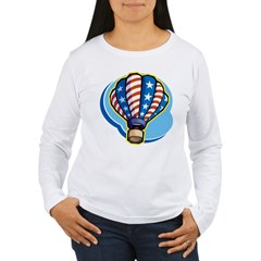 Hot Air Balloon Women's Long Sleeve T-Shirt