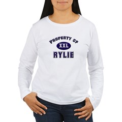 Property of rylie Women's Long Sleeve T-Shirt