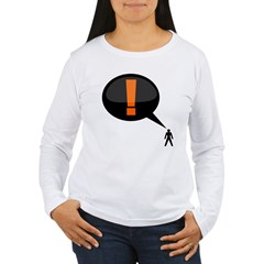 exclamation-dark Women's Long Sleeve T-Shirt