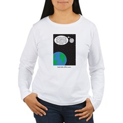 dark side of moon Women's Long Sleeve T-Shirt