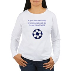 lose_the_ball_black Women's Long Sleeve T-Shirt