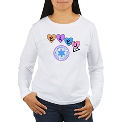 EMT Baby Women's Long Sleeve T-Shirt