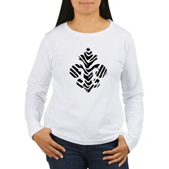 Fleur de lis Animals 1 Women's Long Sleeve T-Shirt
