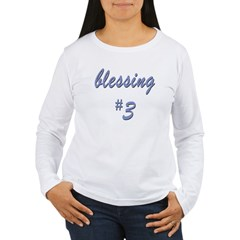 Blessing #3 Women's Long Sleeve T-Shirt