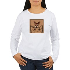 joey roo unlettered.jpg Women's Long Sleeve T-Shirt