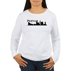 Western Australia. WA, Perth, Women's Long Sleeve T-Shirt