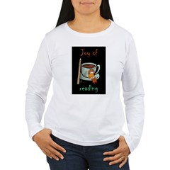 &quot;Joy of reading&quot; Women's Long Sleeve T-Shirt