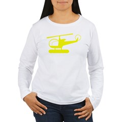 Helicopter Women's Long Sleeve T-Shirt