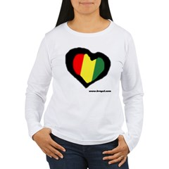 Rasta Hear Women's Long Sleeve T-Shirt