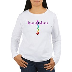 Kundalini Shakti Chakra Women's Long Sleeve T-Shirt