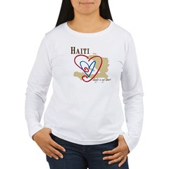 Always In My Hear Women's Long Sleeve T-Shirt