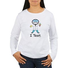Medical Lab Tech Women's Long Sleeve T-Shirt