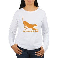 Downward Facing Dog Women's Long Sleeve T-Shirt