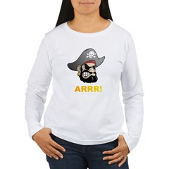 Arr Pirate Women's Long Sleeve T-Shirt