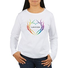 Tribal (Heart) Women's Long Sleeve T-Shirt