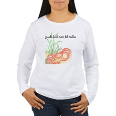 Italian Crabbie Cook Women's Long Sleeve T-Shirt
