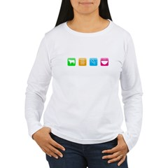 iPho Women's Long Sleeve T-Shirt