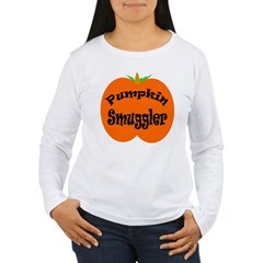 Pumpkin Smuggler Women's Long Sleeve T-Shirt