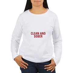 1 Year Clean & Sober Women's Long Sleeve T-Shirt