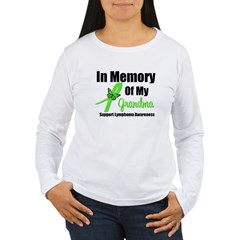 In Memory of My Grandma Women's Long Sleeve T-Shirt
