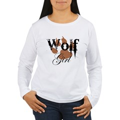 Wolf Girl Women's Long Sleeve T-Shirt
