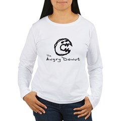 Angry Donut Women's Long Sleeve T-Shirt