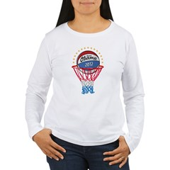 BASKETBALL SHIRT black Women's Long Sleeve T-Shirt