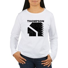 Thompson High Warriors Women's Long Sleeve T-Shirt