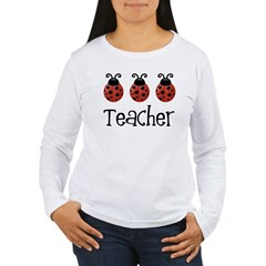 Ladybug Teacher Women's Long Sleeve T-Shirt