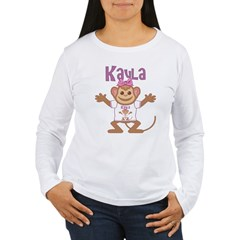 Little Monkey Kayla Women's Long Sleeve T-Shirt
