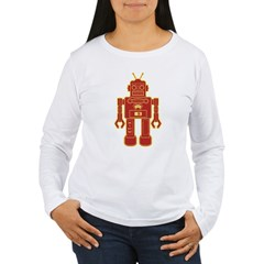 Robot Women's Long Sleeve T-Shirt