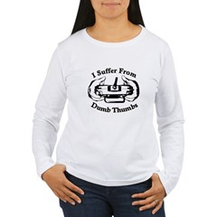 Dumb Thumbs Women's Long Sleeve T-Shirt