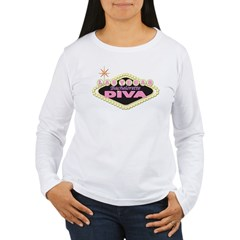 Diva Basic Women's Long Sleeve T-Shirt
